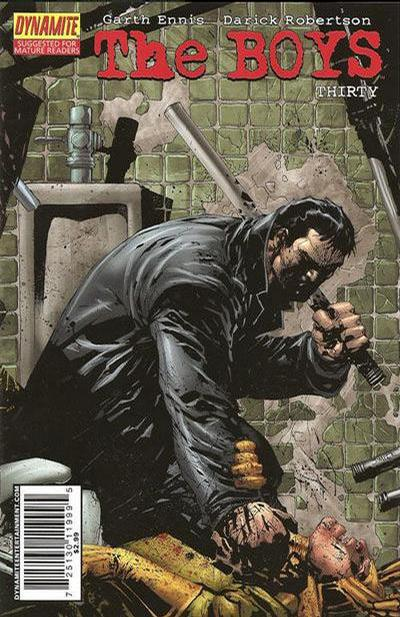 Cover for The Boys (Dynamite Entertainment, 2007 series) #30 [Cover A]