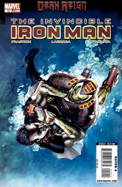 Cover for Invincible Iron Man (2008 series) #12