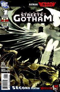 Cover Thumbnail for Batman: Streets of Gotham (DC, 2009 series) #1 [Standard Cover]