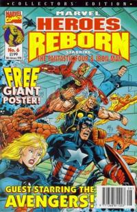 Cover Thumbnail for Marvel Heroes Reborn (Panini UK, 1997 series) #6