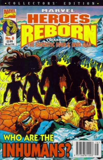 Cover for Marvel Heroes Reborn (1997 series) #8