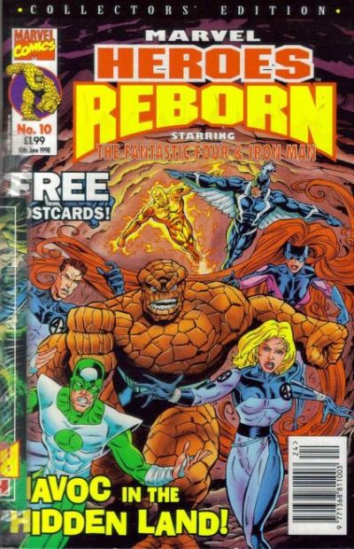 Cover for Marvel Heroes Reborn (Panini UK, 1997 series) #10