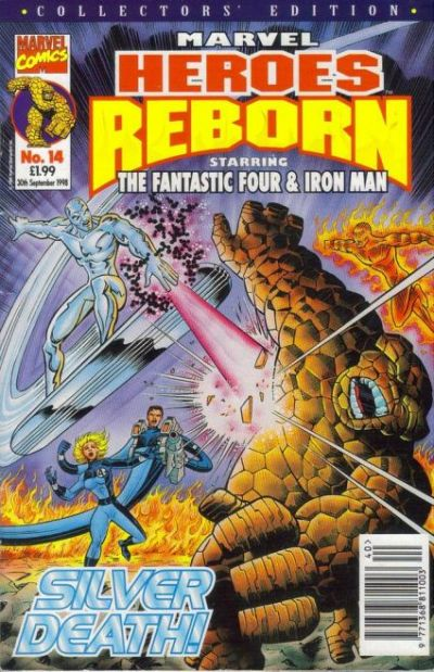 Cover for Marvel Heroes Reborn (1997 series) #14