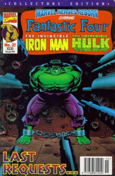Cover for Marvel Heroes Reborn (1997 series) #21