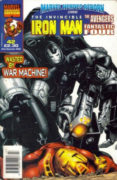 Cover for Marvel Heroes Reborn (Panini UK, 1997 series) #42