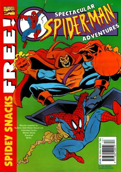Cover for Spectacular Spider-Man Adventures (Panini UK, 1995 series) #6