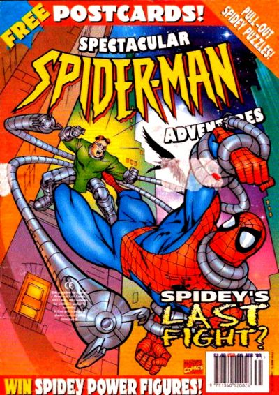 Cover for Spectacular Spider-Man Adventures (Panini UK, 1995 series) #50