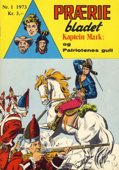 Cover for Præriebladet (Se-Bladene, 1957 series) #1/1973