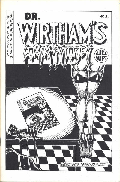 Cover for Dr. Wirtham's Comix & Stories (Clifford Neal, 1976 series) #1