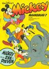 Cover for Mickey Maandblad (Oberon, 1976 series) #7/1981