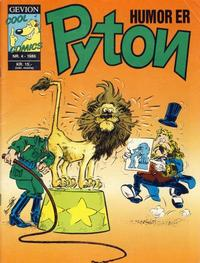 Cover Thumbnail for Pyton (Gevion, 1986 series) #4/1986