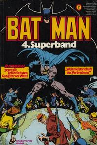 Cover Thumbnail for Batman Superband (Egmont Ehapa, 1974 series) #4
