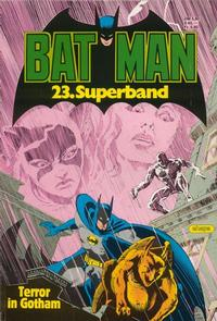 Cover Thumbnail for Batman Superband (Egmont Ehapa, 1974 series) #23