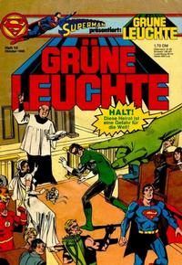 Cover Thumbnail for Grüne Leuchte (Egmont Ehapa, 1979 series) #10/1980