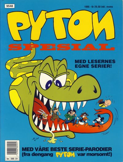 Cover for Pyton Spesial [Spesial Pyton] (1990 series) #1/1995