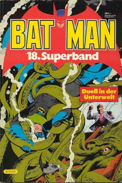 Cover for Batman Superband (Egmont Ehapa, 1974 series) #18
