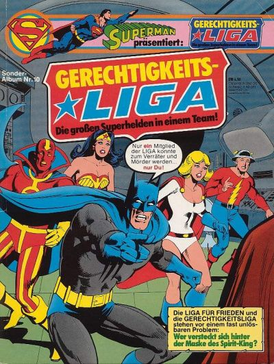 Cover for Gerechtigkeitsliga (1977 series) #10