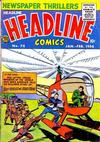 Cover for Headline Comics (Prize, 1943 series) #v11#2 (74)