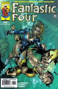 Cover Thumbnail for Fantastic Four (Marvel, 1998 series) #32
