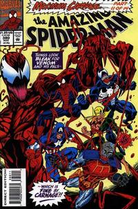 Cover Thumbnail for The Amazing Spider-Man (Marvel, 1963 series) #380 [Direct Edition]