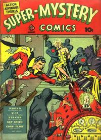 Cover Thumbnail for Super-Mystery Comics (Ace Magazines, 1940 series) #v1#2