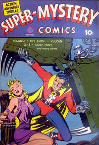 Cover for Super-Mystery Comics (1940 series) #v1#3