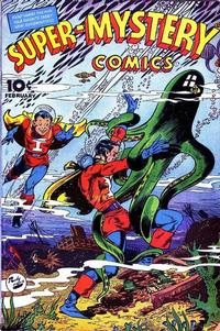 Cover for Super-Mystery Comics (Ace Magazines, 1940 series) #v5#4