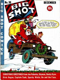 Cover for Big Shot (Columbia, 1942 series) #30