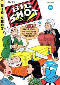 Cover Thumbnail for Big Shot (Columbia, 1942 series) #93