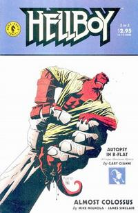 Cover Thumbnail for Hellboy: Almost Colossus (Dark Horse, 1997 series) #2