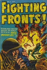 Cover Thumbnail for Fighting Fronts (Harvey, 1952 series) #2