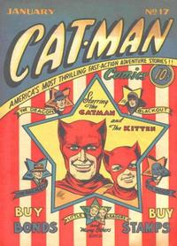 Cover Thumbnail for Cat-Man Comics (Holyoke, 1942 series) #v3#7 (17)