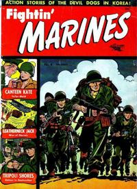 Cover Thumbnail for Fightin' Marines (St. John, 1951 series) #4