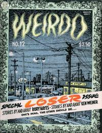 Cover Thumbnail for Weirdo (Last Gasp, 1981 series) #12 [1st printing]