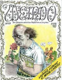 Cover Thumbnail for Weirdo (Last Gasp, 1981 series) #25