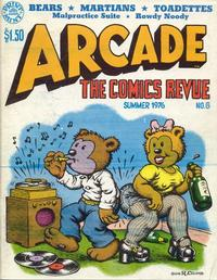Cover Thumbnail for Arcade (The Print Mint Inc, 1975 series) #6