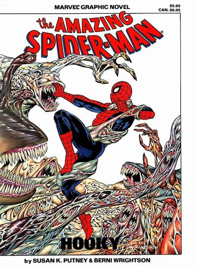 Cover for Marvel Graphic Novel: The Amazing Spider-Man in Hooky (Marvel, 1986 series)