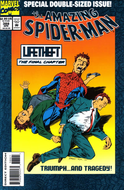 Cover for The Amazing Spider-Man (1963 series) #388