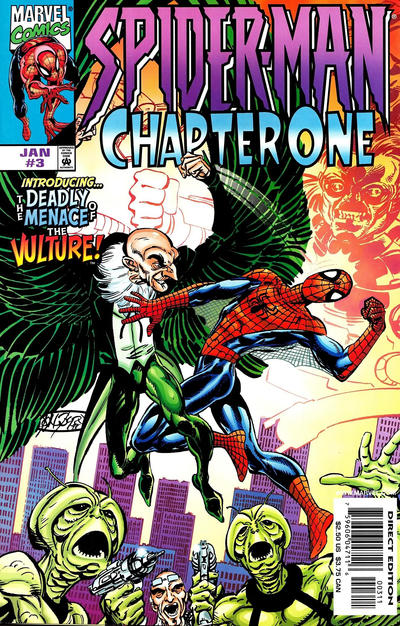 Cover for Spider-Man: Chapter One (1998 series) #3