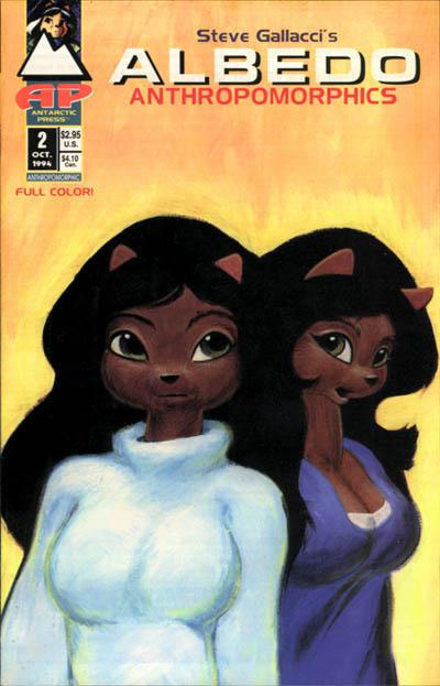 Cover for ALBEDO Anthropomorphics (1994 series) #2