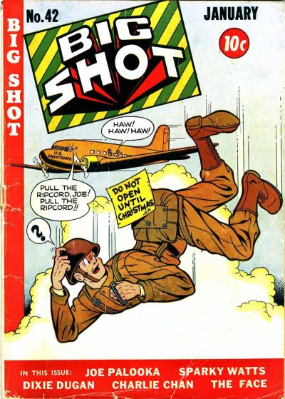 Cover for Big Shot (Columbia, 1942 series) #42