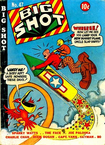 Cover for Big Shot (Columbia, 1942 series) #47
