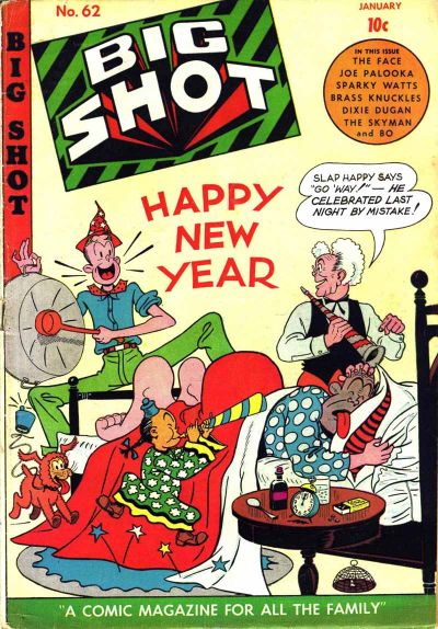 Cover for Big Shot (Columbia, 1942 series) #62