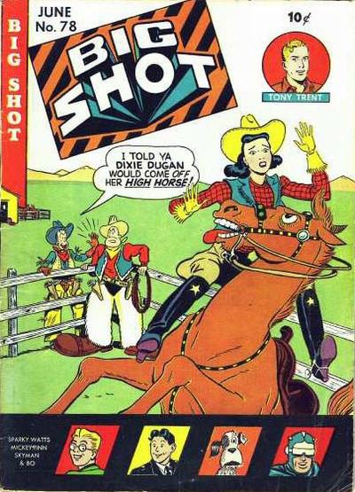 Cover for Big Shot (Columbia, 1942 series) #78