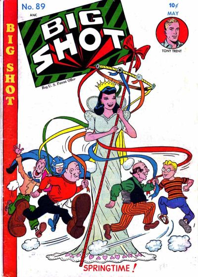 Cover for Big Shot (Columbia, 1942 series) #89