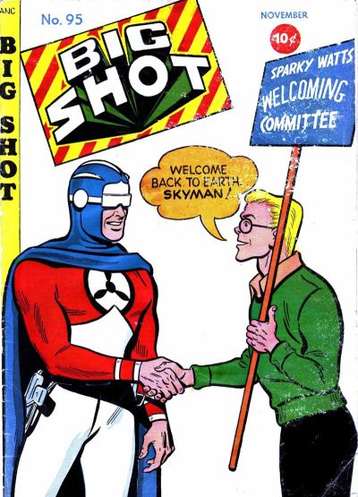 Cover for Big Shot (Columbia, 1942 series) #95
