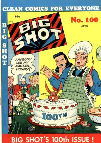 Cover for Big Shot (Columbia, 1942 series) #100