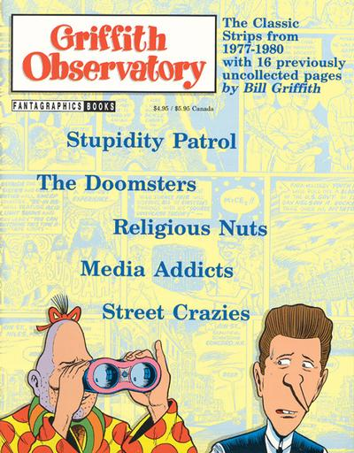Cover for Griffith Observatory (Fantagraphics, 1993 series)
