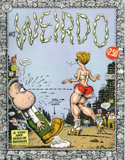 Cover for Weirdo (Last Gasp, 1981 series) #7 [1st printing]