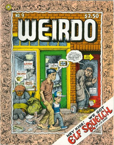 Cover for Weirdo (1981 series) #9 [1st printing]